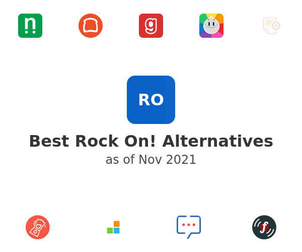 Best Rock On! Alternatives