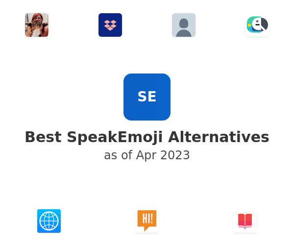 Best SpeakEmoji Alternatives