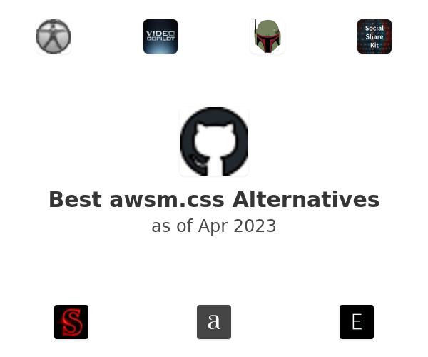 Best awsm.css Alternatives