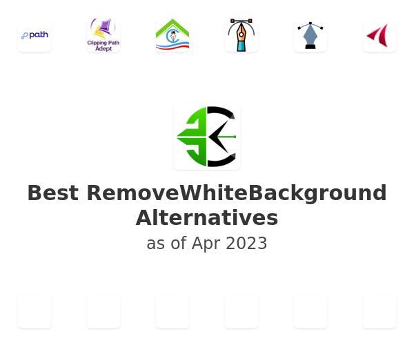 Best RemoveWhiteBackground Alternatives