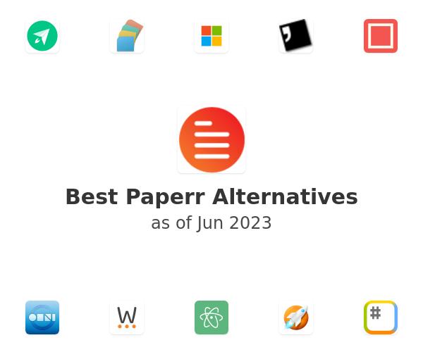 Best Paperr Alternatives