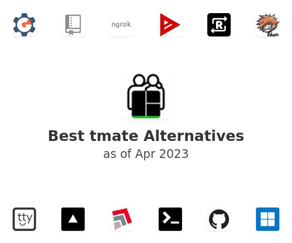 Best tmate Alternatives