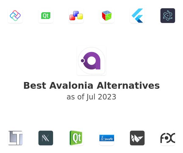 Best Avalonia Alternatives