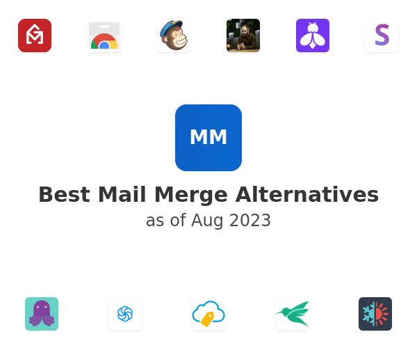 Best Mail Merge Alternatives