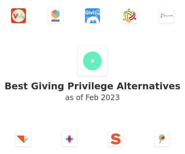 Best Giving Privilege Alternatives