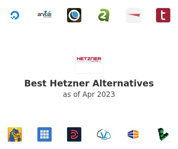 Best Hetzner Alternatives