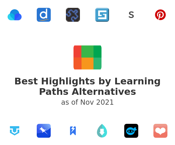 Best Highlights by Learning Paths Alternatives