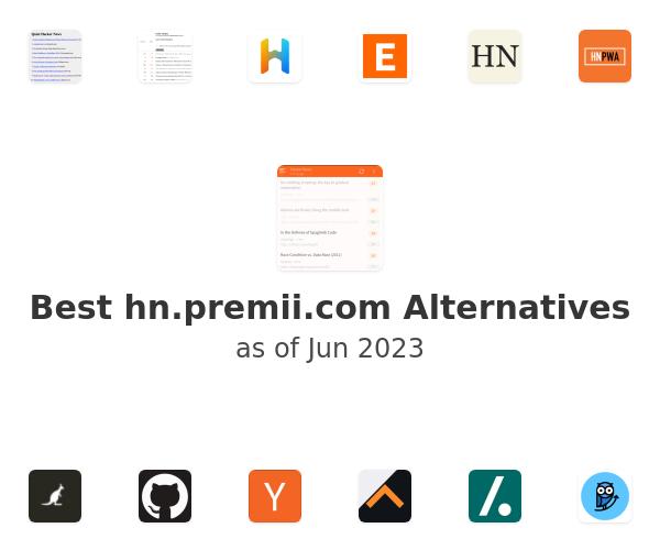 Best hn.premii.com Alternatives