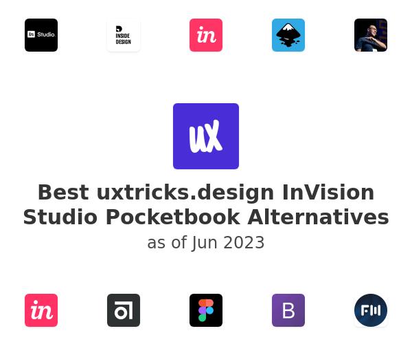 Best InVision Studio Pocketbook Alternatives
