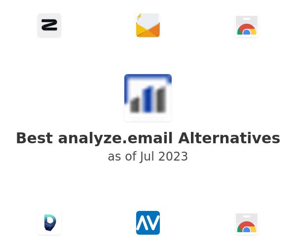 Best analyze.email Alternatives