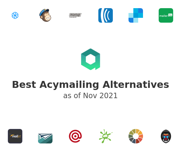 Best Acymailing Alternatives