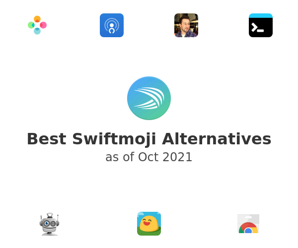 Best Swiftmoji Alternatives