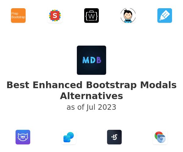 Best Enhanced Bootstrap Modals Alternatives