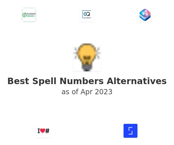 Best Spell Numbers Alternatives