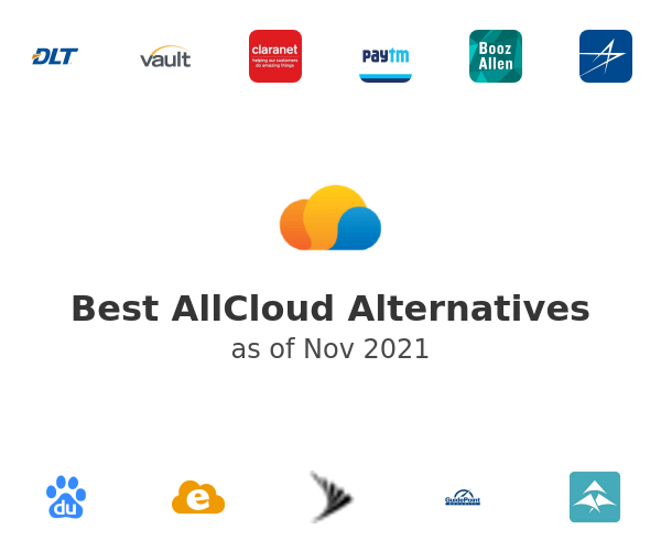 Best AllCloud Alternatives