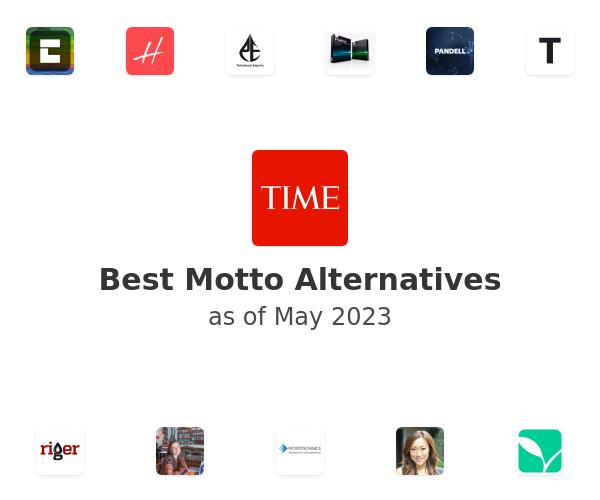 Best Motto Alternatives