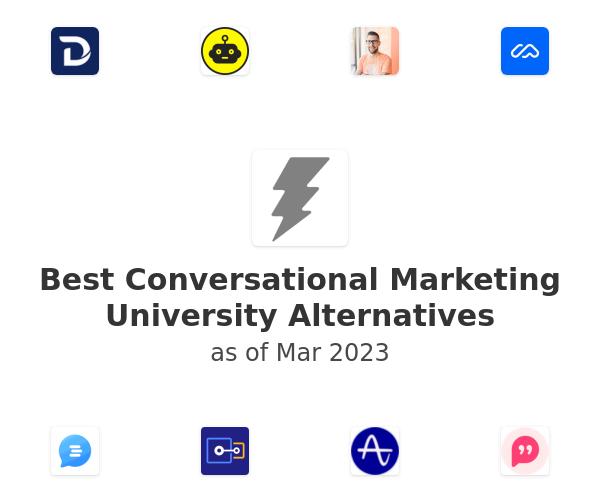 Best Conversational Marketing University Alternatives