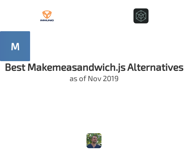 Best Makemeasandwich.js Alternatives