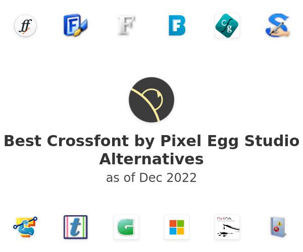Best Crossfont by Pixel Egg Studio Alternatives