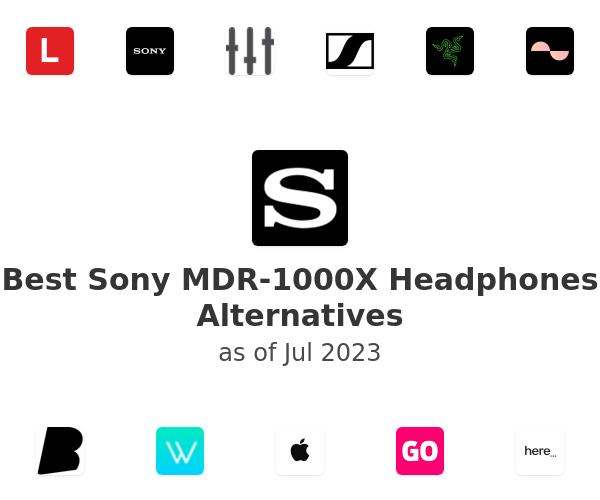 Best Sony MDR-1000X Headphones Alternatives