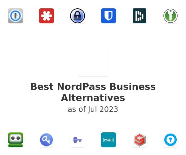 Best NordPass Alternatives