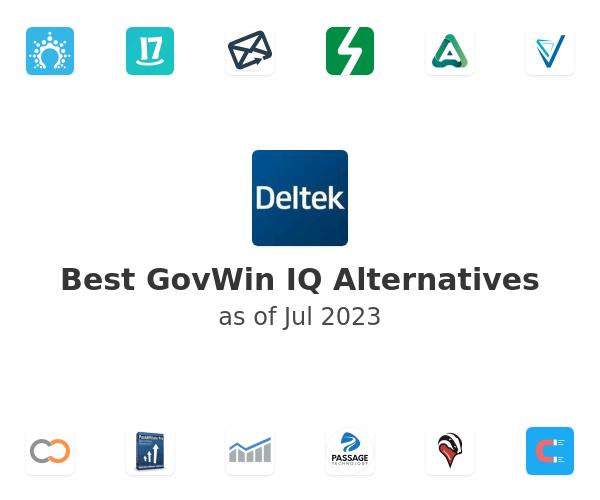 Best GovWin IQ Alternatives