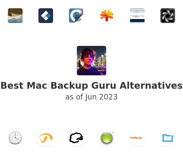 Best Mac Backup Guru Alternatives