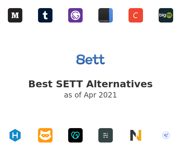 Best SETT Alternatives