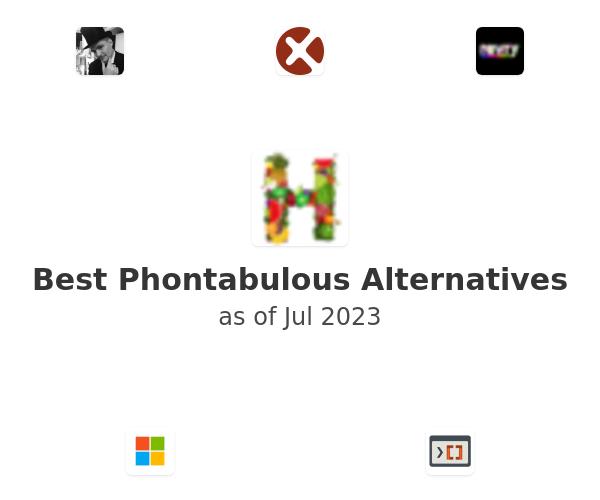 Best Phontabulous Alternatives