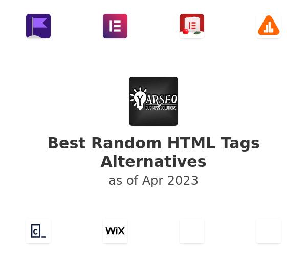 Best Random HTML Tags Alternatives
