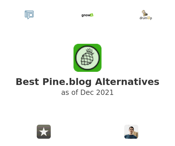 Best Pine.blog Alternatives