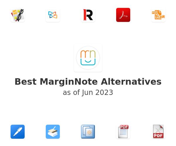 Best MarginNote Alternatives