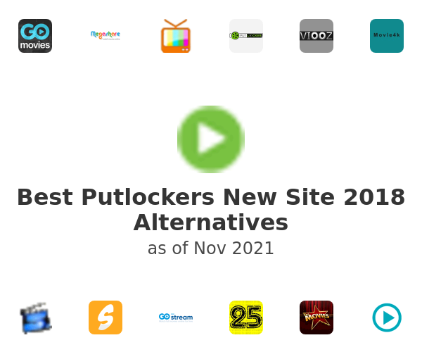 Best Putlockers New Site 2018 Alternatives