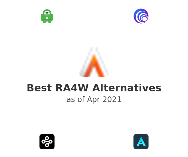 Best RA4W Alternatives