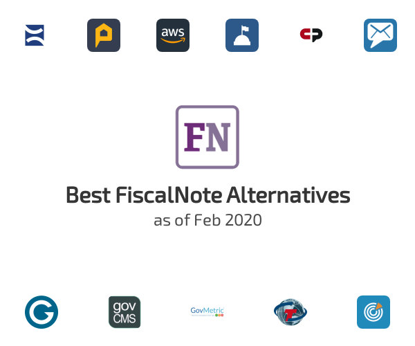 Best FiscalNote Alternatives
