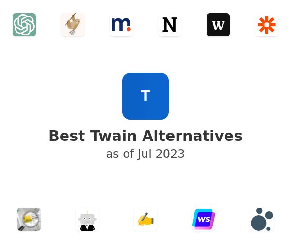 Best Twain Alternatives
