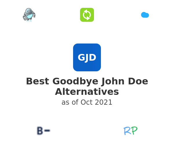 Best Goodbye John Doe Alternatives