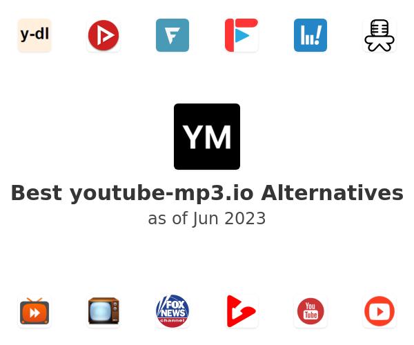 Best youtube-mp3.io Alternatives