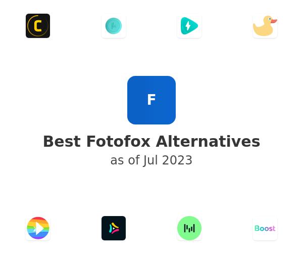 Best Fotofox Alternatives