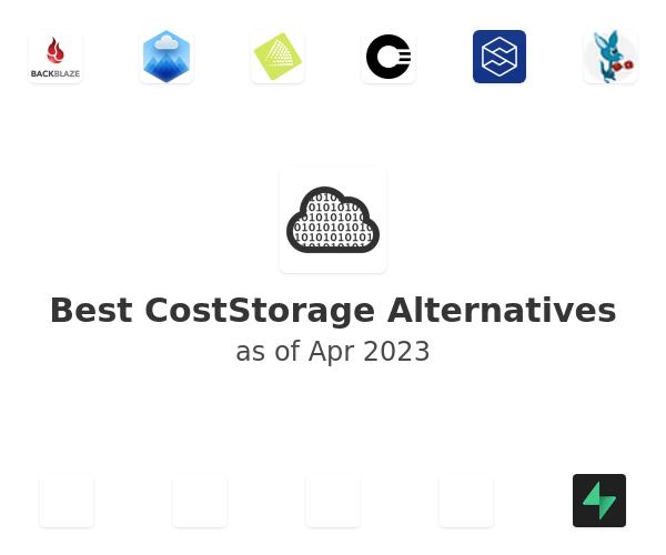 Best CostStorage Alternatives