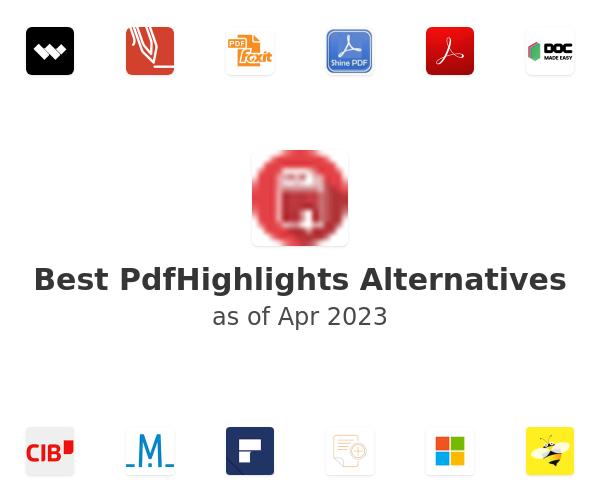 Best PdfHighlights Alternatives