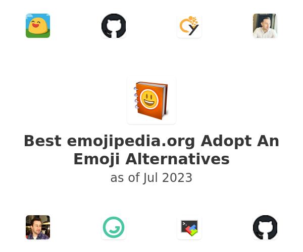 Best Adopt An Emoji Alternatives