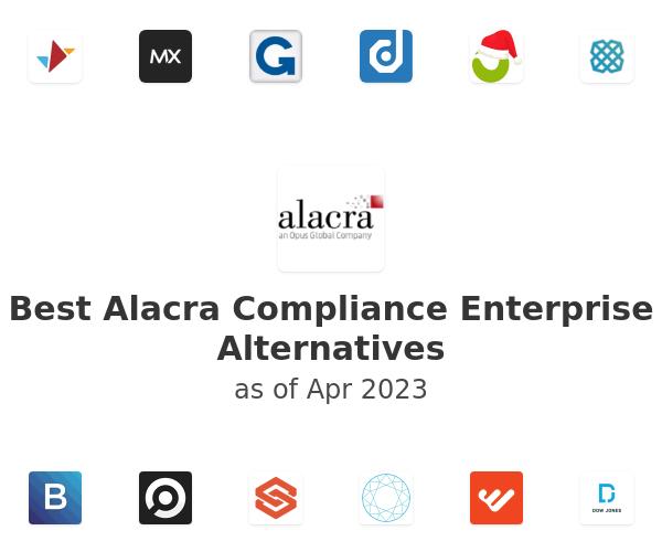 Best Alacra Compliance Enterprise Alternatives