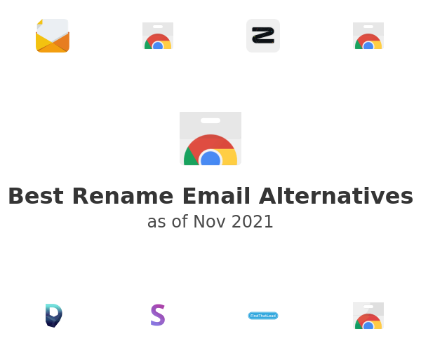 Best Rename Email Alternatives