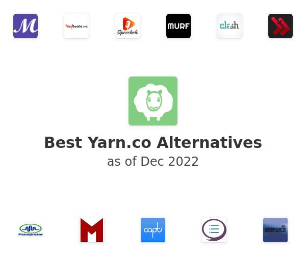 Best Yarn.co Alternatives
