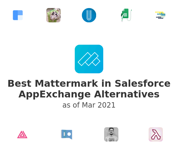 Best Mattermark in Salesforce AppExchange Alternatives