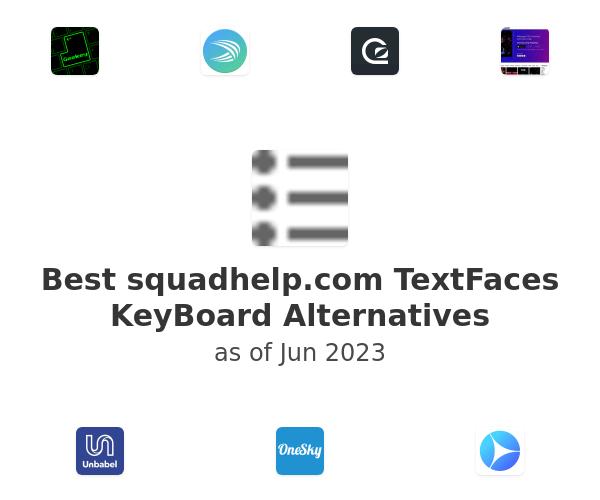 Best TextFaces KeyBoard Alternatives