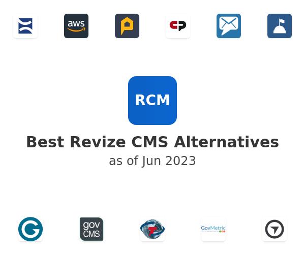 Best Revize CMS Alternatives