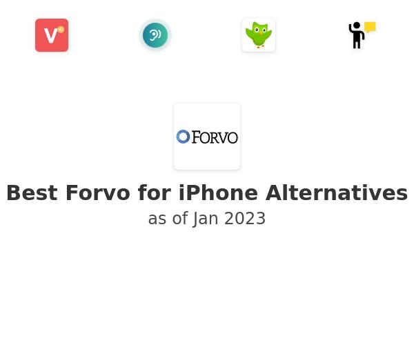 Best Forvo for iPhone Alternatives