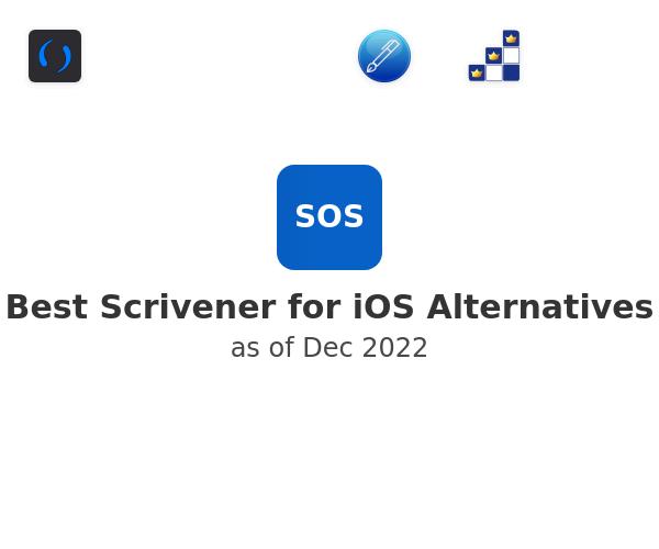 Best Scrivener for iOS Alternatives